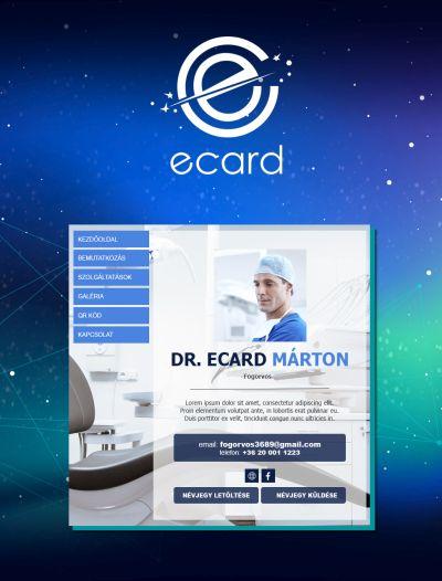 ecard névjegykártya